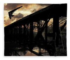 Bridge I Fleece Blanket