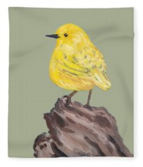 Bright Spot #2 Fleece Blanket