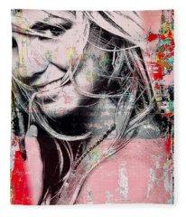 Britney Baby Fleece Blanket
