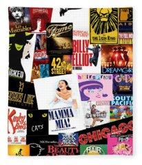 Broadway 22 Fleece Blanket