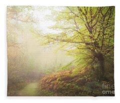 Broceliand Path Fleece Blanket