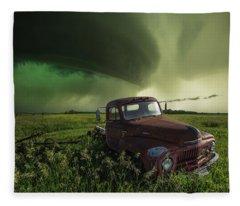 Broke Fleece Blanket