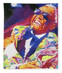 Brother Ray Charles Fleece Blanket