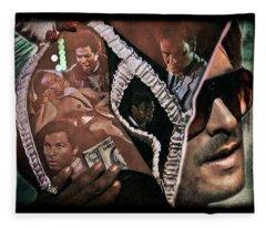 Brother's Keeper 1 Fleece Blanket