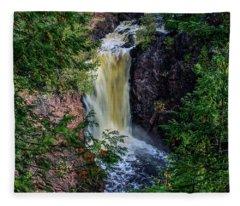 Brownstone Falls Fleece Blanket