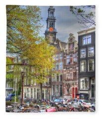 Brussels Belgium Fleece Blanket