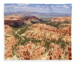 Bryce Canyon Hoodoos Fleece Blanket