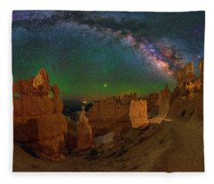 Bryce Panorama Fleece Blanket