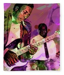 Buddy Guy 1965 Fleece Blanket