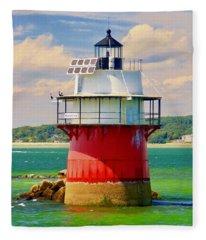 Bug Light Duxbury Fleece Blanket