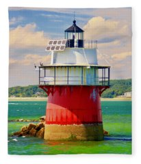 Bug Light Duxbury Fleece Blanket