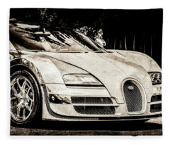 Bugatti Legend - Veyron Special Edition -0844s45 Fleece Blanket