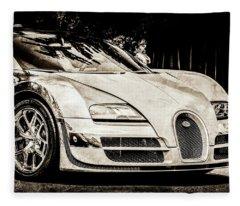 Bugatti Legend - Veyron Special Edition -0844scl2 Fleece Blanket