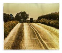 Buggy At Golden Hour Fleece Blanket