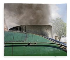 Bury. East Lancashire Railway. 60009 Union Of South Af Fleece Blanket