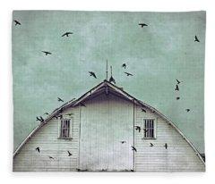 Busy Barn Fleece Blanket