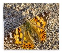 Butterfly Beauty  Fleece Blanket