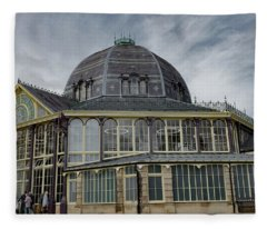 Buxton Octagon Hall At The Pavilion Gardens Fleece Blanket