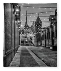 Bw City Lights Fleece Blanket