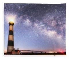 By Dawn's Early Light Fleece Blanket