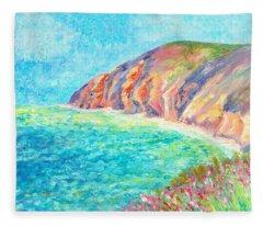 By The Sea Fleece Blanket
