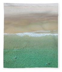 Byron Bay Swimmers Fleece Blanket