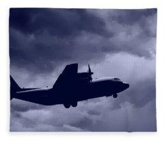 C130 Hercules Fleece Blanket
