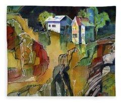 Cabin Life Fleece Blanket