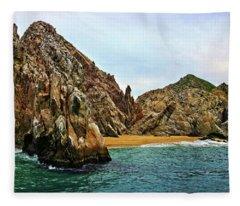 Cabo San Lucas A Different View Fleece Blanket
