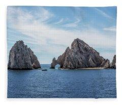 Cabo San Lucas El Arco Fleece Blanket