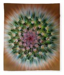 Cactus Cooler Fleece Blanket