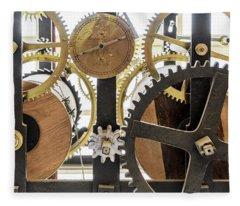 Cadiz Cathedral Clockworks Fleece Blanket