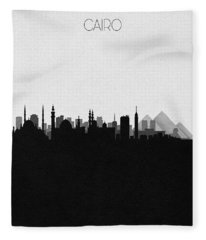 Cairo Cityscape Art Fleece Blanket