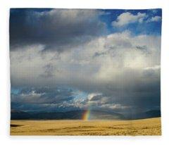 Caldera Rainbow Fleece Blanket