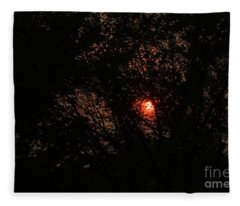 Calgary Sunrise Fleece Blanket