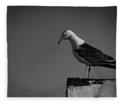 Calling Hitchcock Fleece Blanket