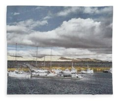 Calm Harbor Fleece Blanket