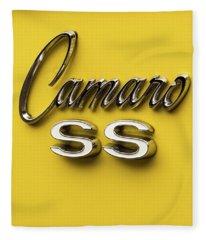 Camaro Ss Fleece Blanket