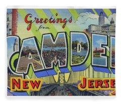 Camden Greetings Fleece Blanket