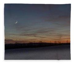 Camillus Moonset Fleece Blanket