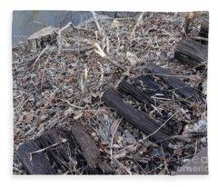 Canal Stumps-025 Legacy Fleece Blanket