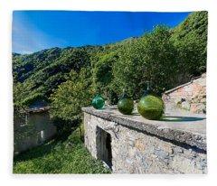 Canate Di Marsiglia Abandoned Place Lungo L'alta Via Dei Monti Liguri Fleece Blanket