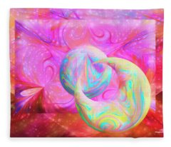Candy Universe Fleece Blanket