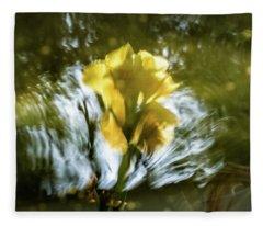 Canna Lily 3 Fleece Blanket