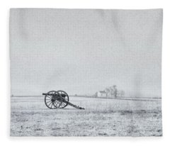 Cannon Out In The Field Fleece Blanket