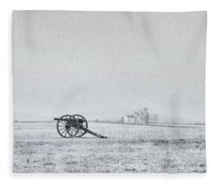 Cannon Out In The Field Fleece Blanket