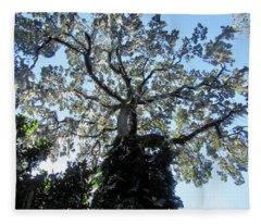 Canopy Of Light Fleece Blanket