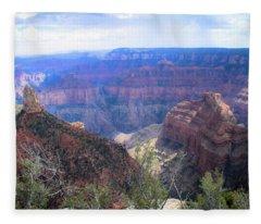 Canyon Adventures Fleece Blanket