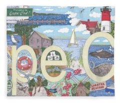 Cape Cod Fleece Blanket