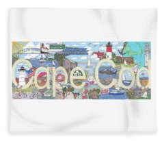 Cape Cod Fleece Blanket